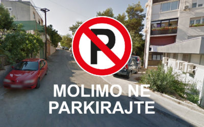 Započinju radovi sondiranja na početku Mariborske, molimo ne parkirajte