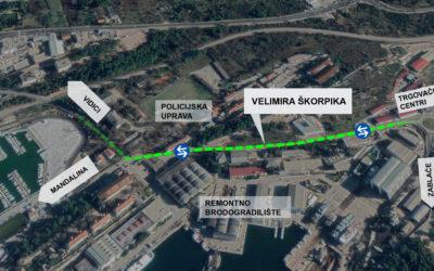 Dobre vijesti, dvadesetak dana prije roka za sav se promet otvara Ulica Velimira Škorpika