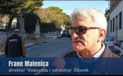 Frane Malenica za EU ŠIbaj TV: Šibenik do ljeta bez raskopanih ulica, u pripremi novi projekti