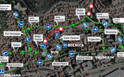 Otvara se dio Ulice Matije Gupca, normalizacija prometa prema Šubićevcu, ali i nove promjene u regulaciji prometa oko bolnice i Rokićima