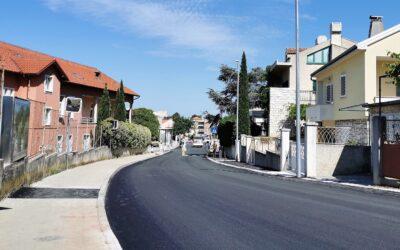Završeni su svi radovi u Ulici Matije Gupca, ukida se privremena prometna regulacija na tom području